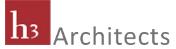 h3 Architects Logo